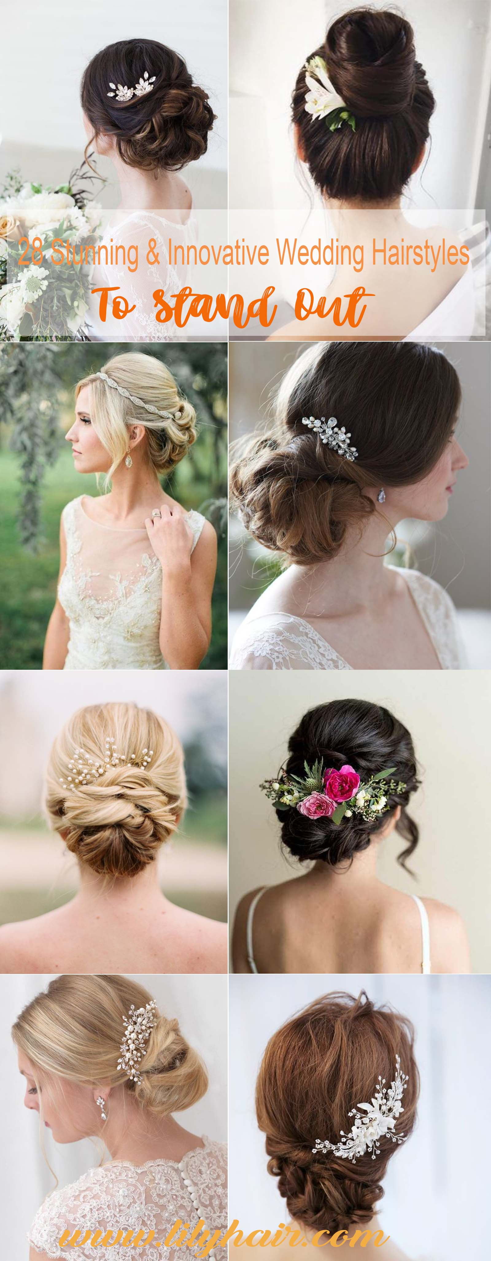Charming Braided Updos for Bridal Hairstyles