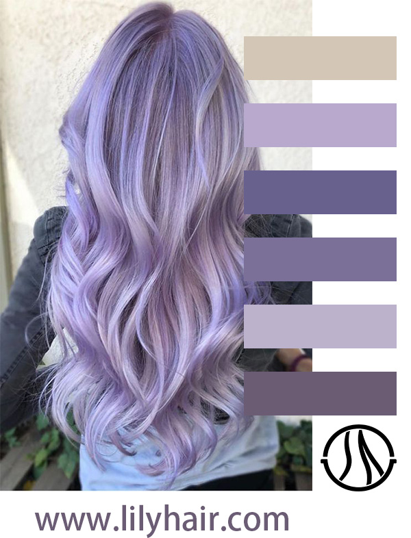 Shade of Purple and Silver