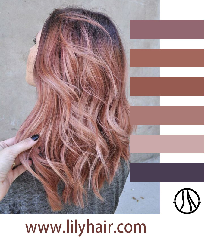Peach Pink and Blush Pink