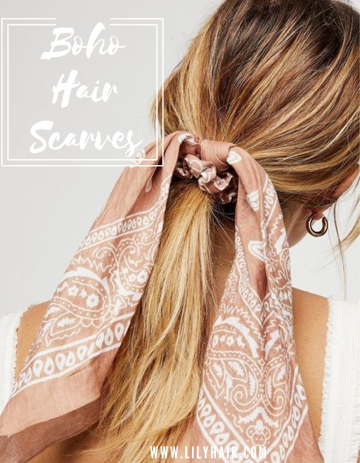 20+ Fabulous Hair Scarves to Impress Everyone In Summer