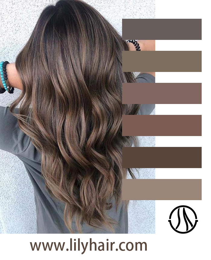 Brown Ombre Color