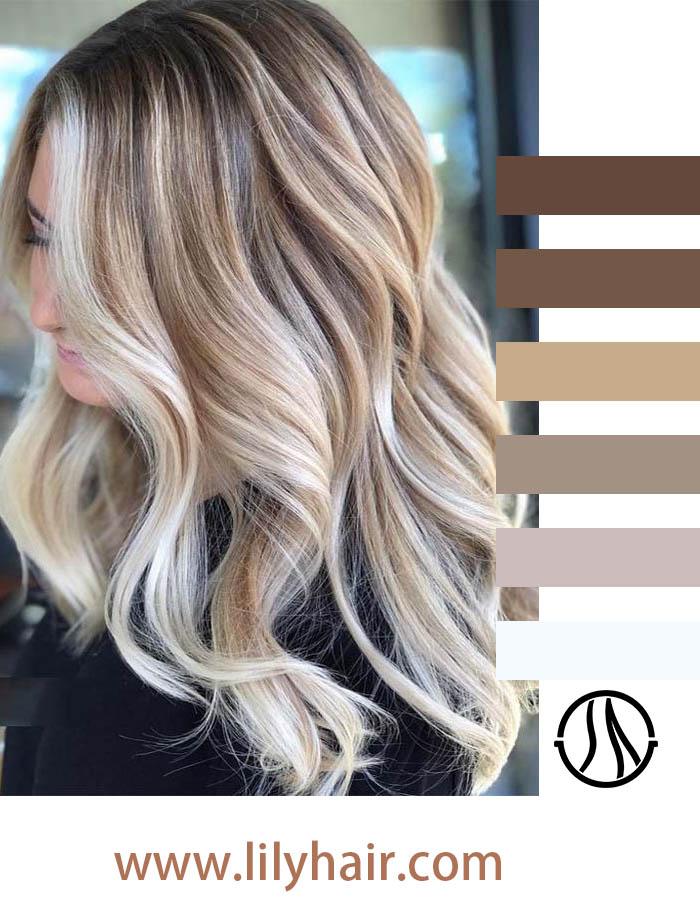 Cream Blonde Hair