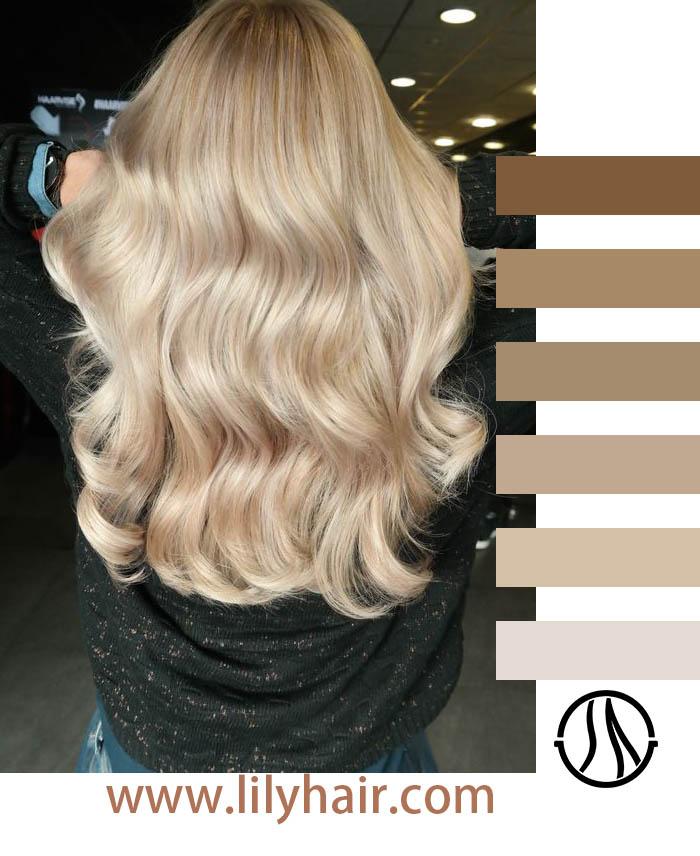 Swedish Blonde Hair